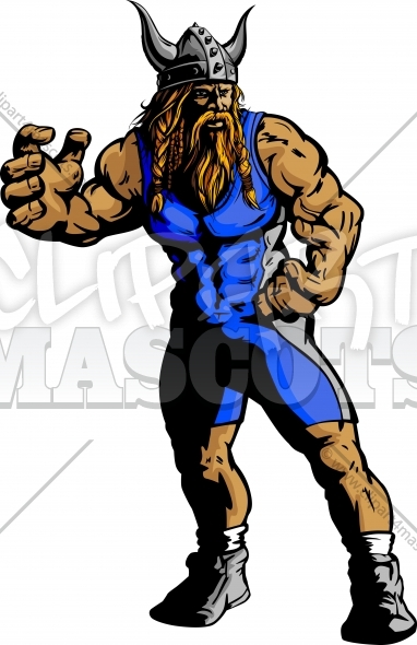 382x590 Viking Wrestling Clipart Graphic Vector Image