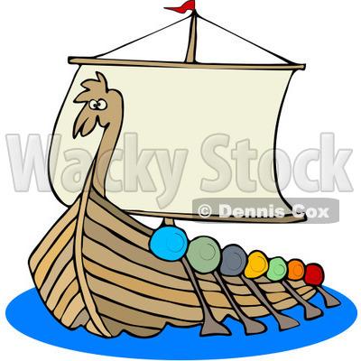 400x400 Viking Clipart Viking Boat