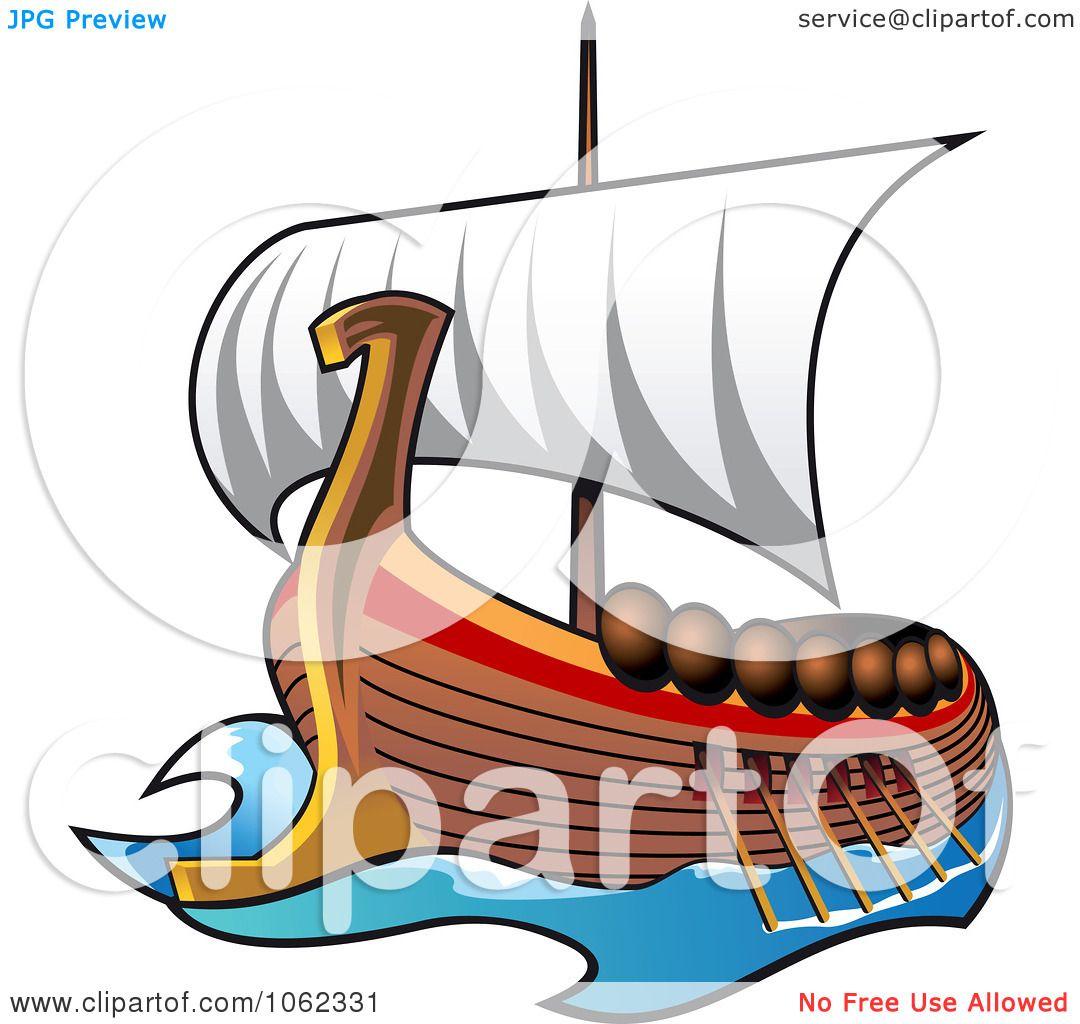 1080x1024 Clipart Viking Ship At Sail