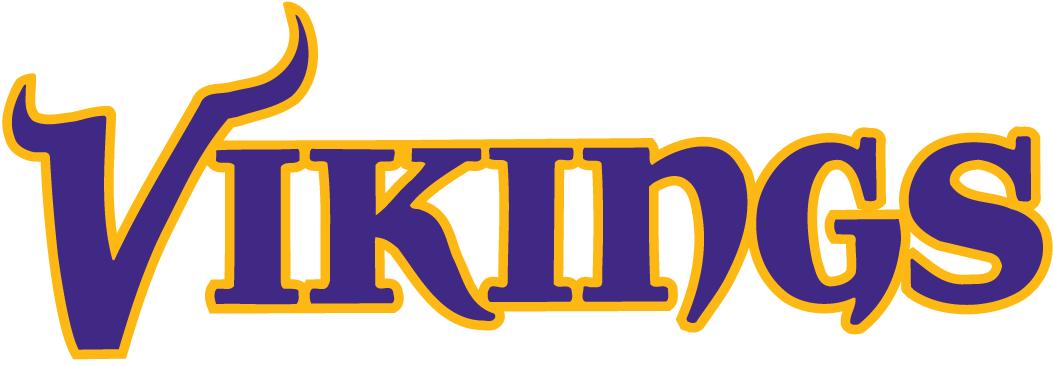 1053x365 Minnesota Vikings Logo Clip Art
