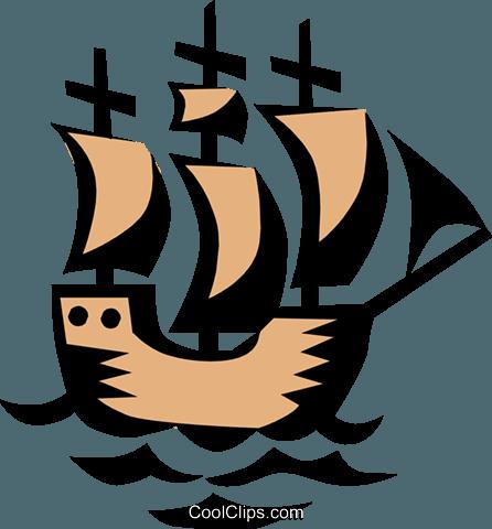 446x480 Ship Symbol Royalty Free Vector Clip Art Illustration Tran0351