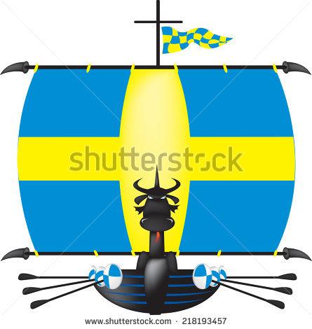 445x470 Viking Ship Clipart Swedish