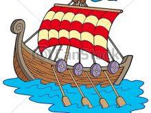 220x165 Viking Ship Clip Art Viking Boat On White Background Isolated
