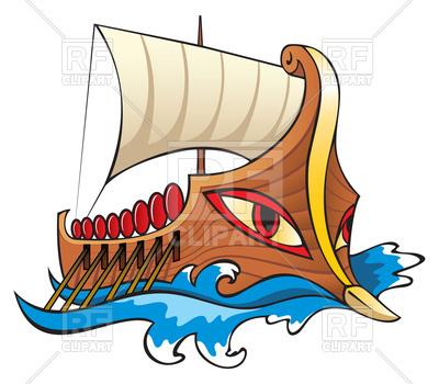 400x350 Argo, In Greek Mythology, The Legendary Ship Of Argonauts, Royalty