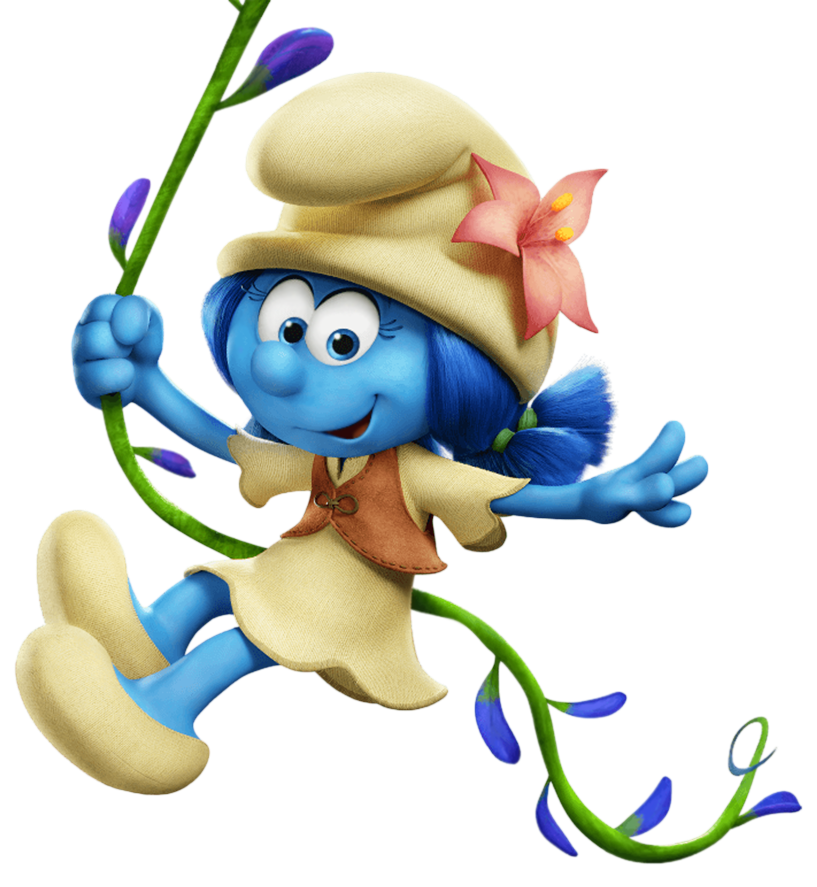 817x887 Lily Smurfs The Lost Village Transparent Png Imageu200b Gallery