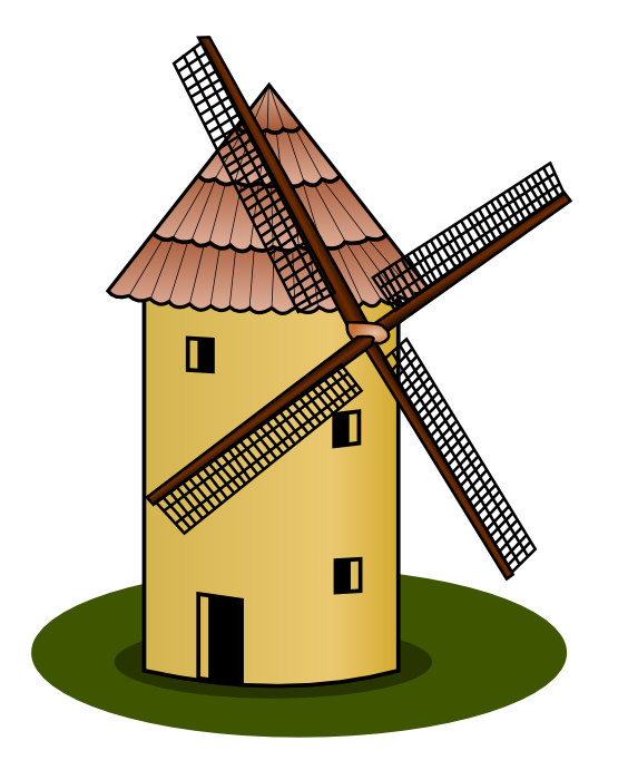 555x691 This Nice Windmill Clip Art Is Clipart Panda
