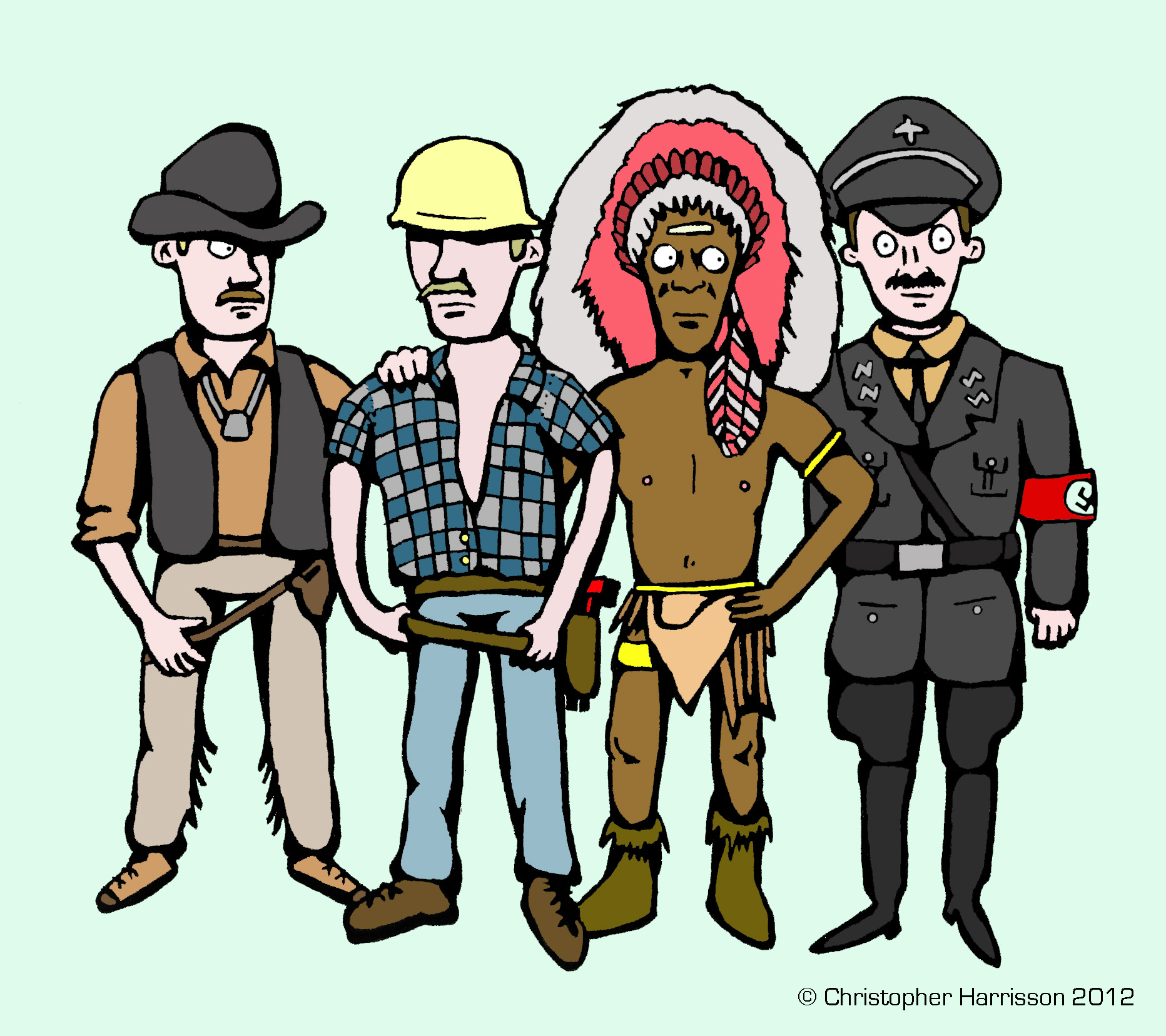 1864x1656 Village People Clipart