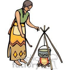 236x236 American Indian Chief Clipart Ccb Indian Village