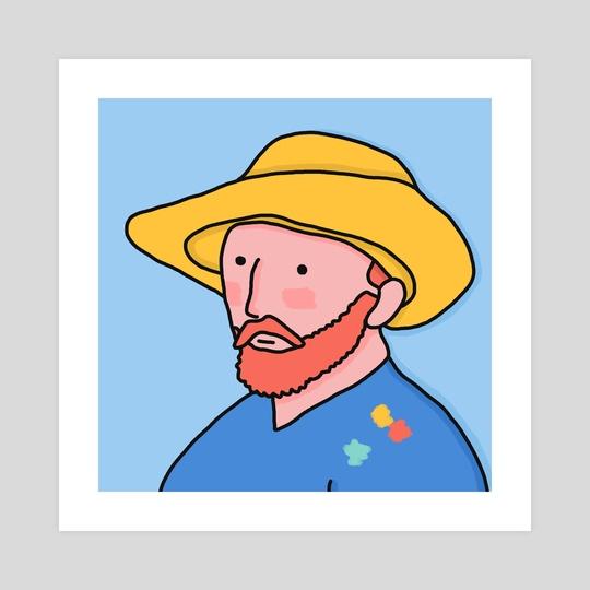 540x540 Dear Vincent, An Art Print By Idil Keysan