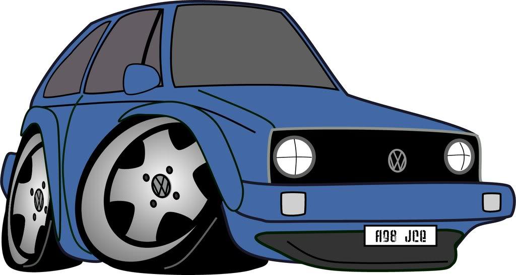 1024x547 Blue Car Clipart Volkswagen