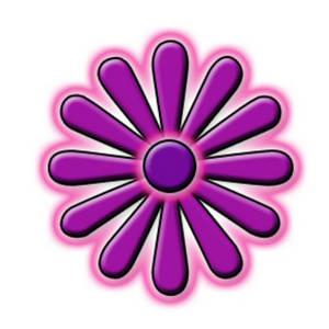 300x300 Clip Art Purple Flowers Clipart Collection