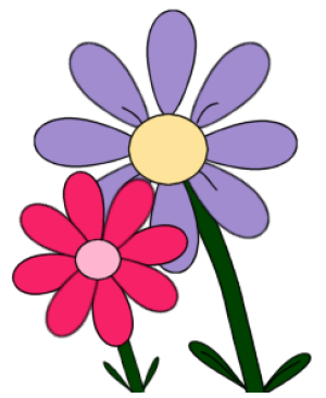 300x366 Free Flower Clip Art For All Your Projects