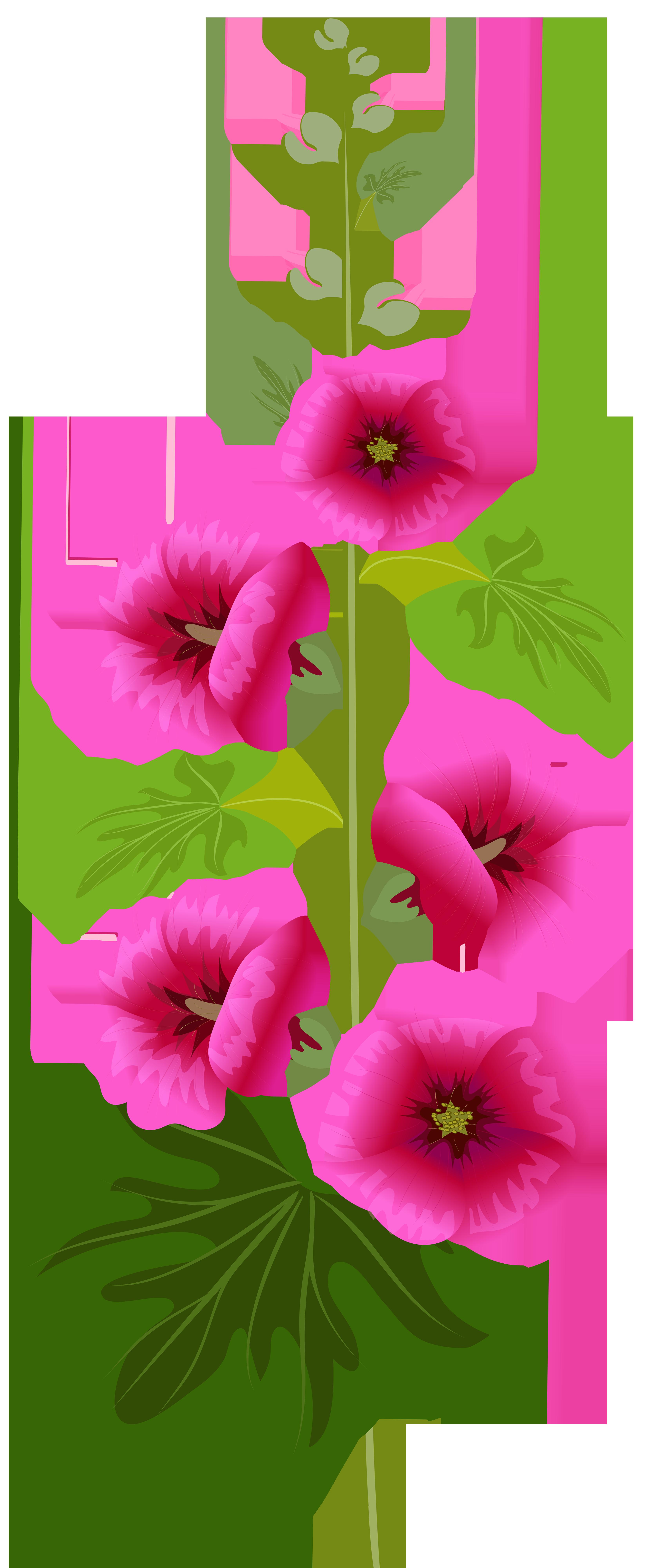 3298x8000 Purple Flower Clip Art Imageu200b Gallery Yopriceville
