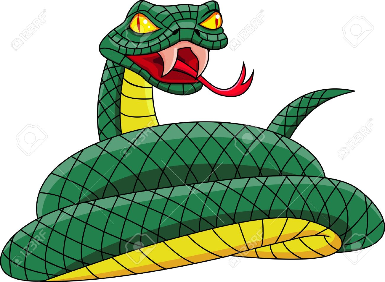 1300x954 Collection Of Scary Snake Clipart High Quality, Free