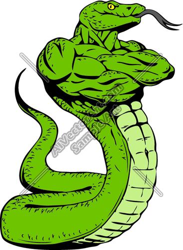 367x500 Snakeman Clipart And Vectorart Sports Mascots