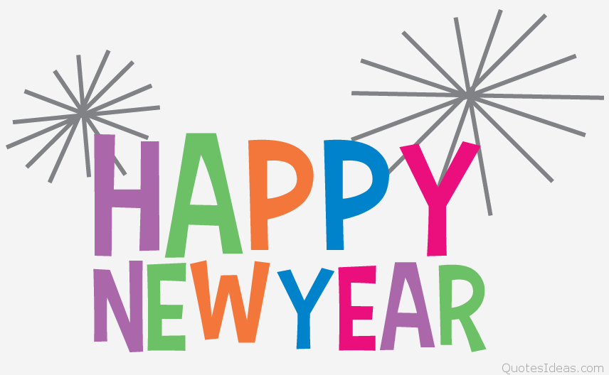 856x528 Free clip art Happy new year 2016