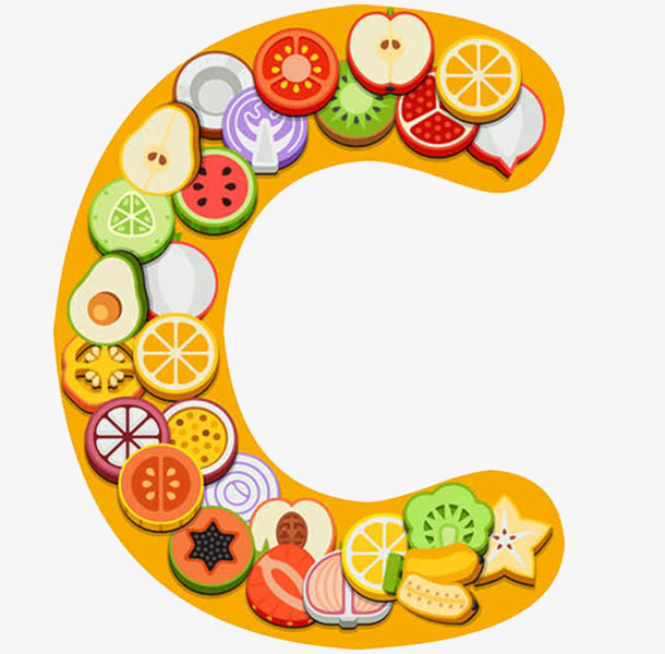 610x600 Creative Vitamins, Cartoon, Jane Pen, Fruits Png Image And Clipart