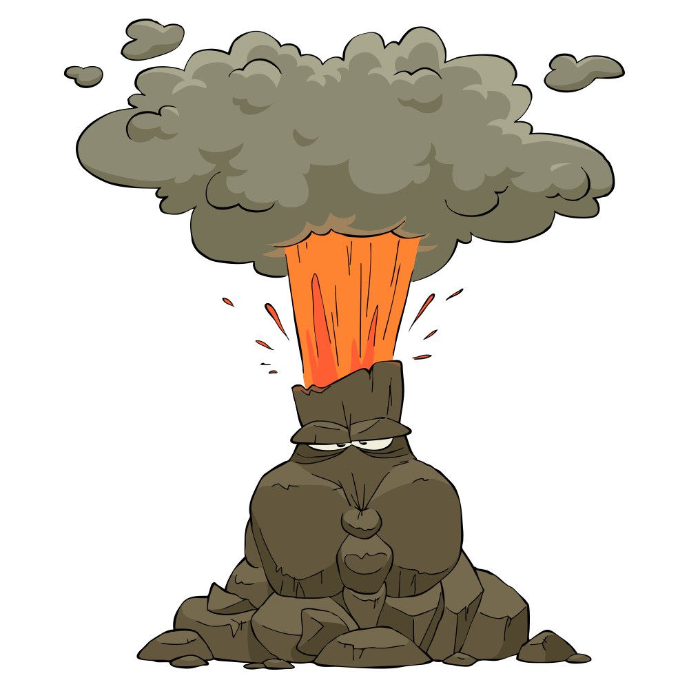 Volcano Eruption Clipart at GetDrawings | Free download