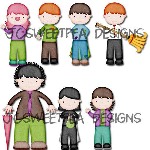 570x570 Harry Potter Digital Scrapbooking Character Clip Art Superpack
