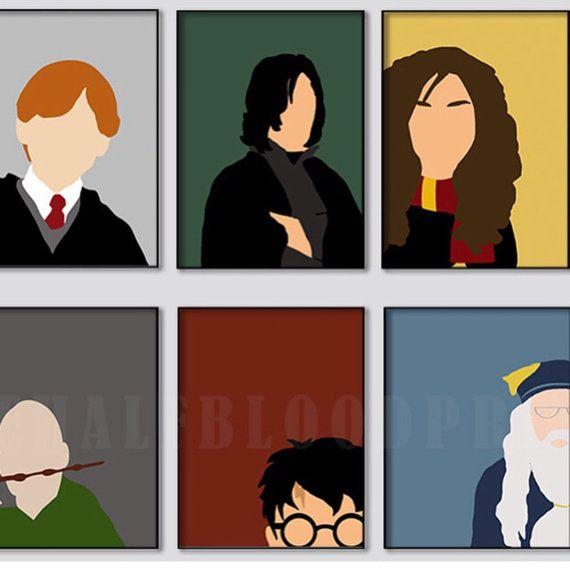 570x570 Harry Potter Wall Art