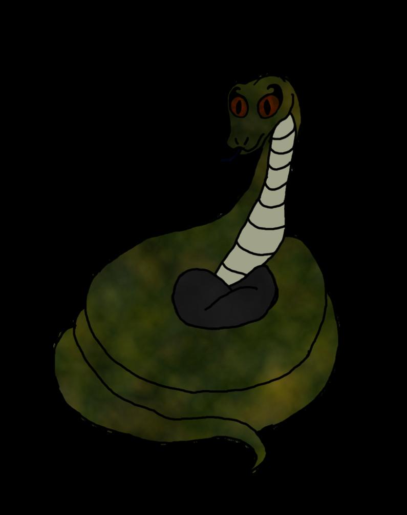 795x1004 Just Nagini By Bat Snake