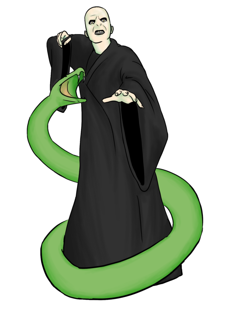 769x1039 Collab Voldemort And Nagini By Yuett