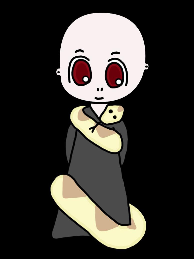 774x1033 Chibi Voldemort By Mousiek