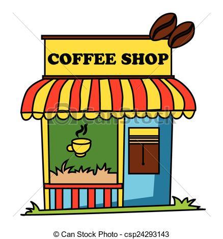 438x470 Coffee Shop Clipart Free