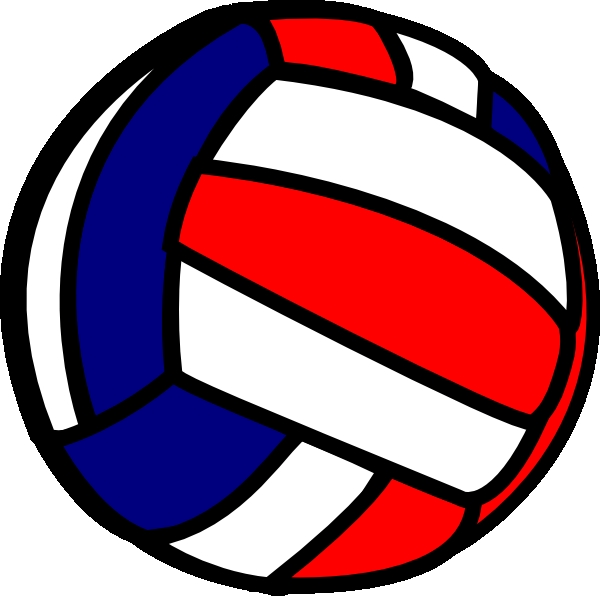 600x596 Image Of Volleyball Clipart