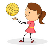 195x177 Absolutely Smart Volleyball Clipart Clip Art At Clker Com Vector