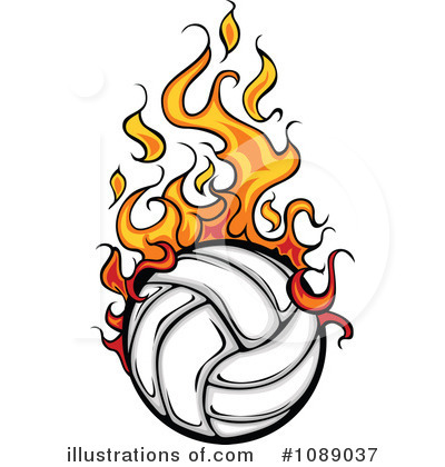 400x420 Volleyball Clipart 7 Illustration By Chromaco Image