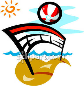 290x300 Beach Volleyball Clipart Free Collection Download And Share