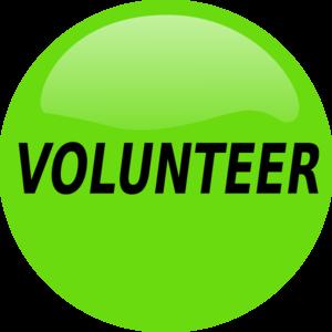 300x300 Volunteer Button Clip Art