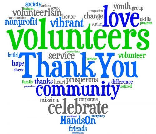 500x429 Volunteer Clip Art Thank You Volunteer Clip Art