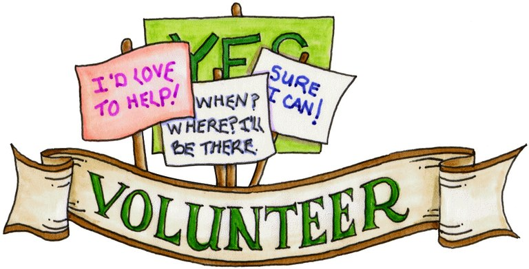 768x391 Volunteer Clipart Blanco Library