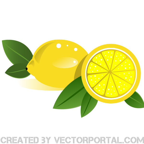 600x600 Lemons Vector Clip Art By Vectorportal