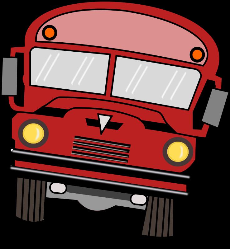 738x800 School Bus Clip Art