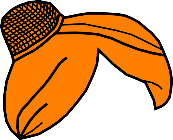 600x484 Hair Wnet Orange Clip Art
