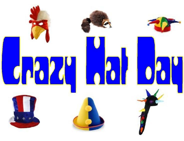736x563 Wacky Hat Cartoons Crazy Hat Day Clip Art Crazy Hat Day Happy