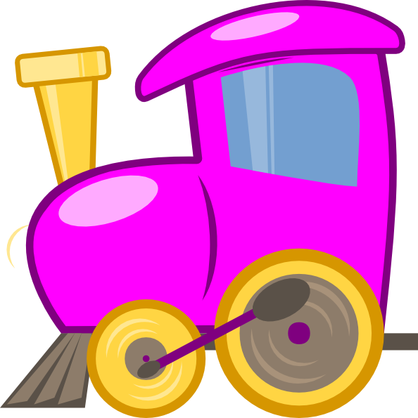 594x595 Collection Of Purple Train Clipart High Quality, Free