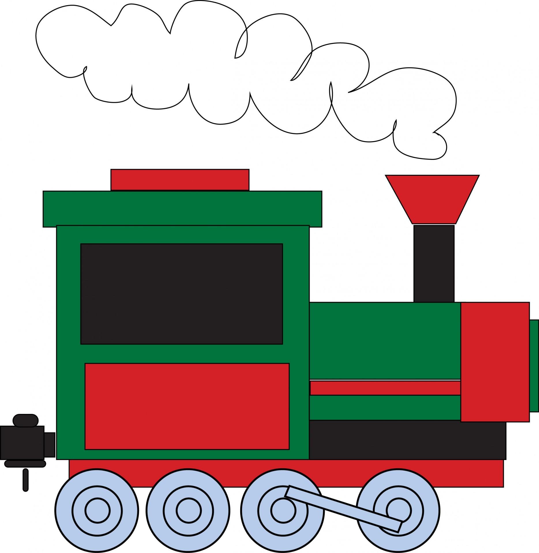 1869x1920 Train Clipart Free Stock Photo