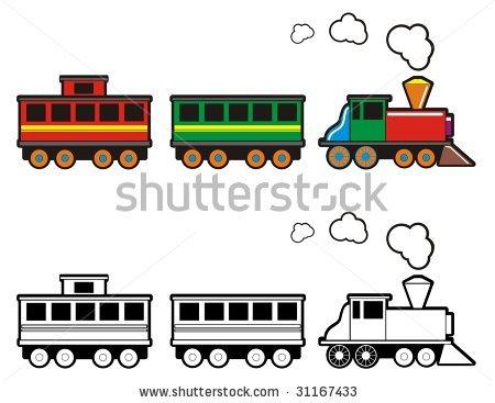 450x367 Train Engine Black And White Clipart