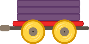 299x147 Clipart Train Wagon