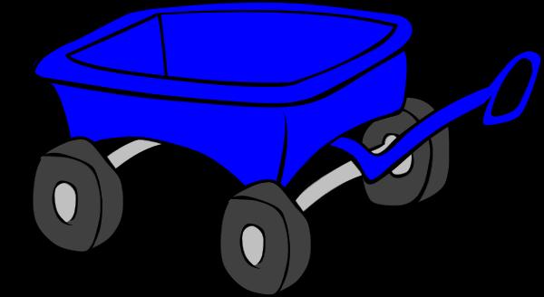 600x328 Wagon Clipart