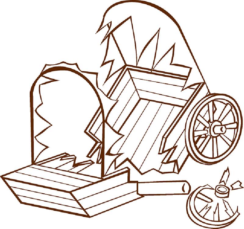 800x751 Broken, Damaged, Wagon, Old Wagon Wheel, Wild West