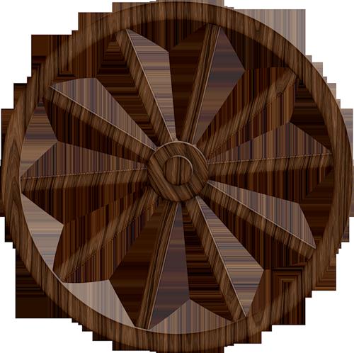 500x498 Wagon Wheel Scrapbook Western Wagon Wheels, Clip