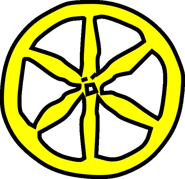 600x578 Wheelchair Rim Clipart