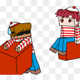 260x260 Where's Wally Couple Costume Book Game