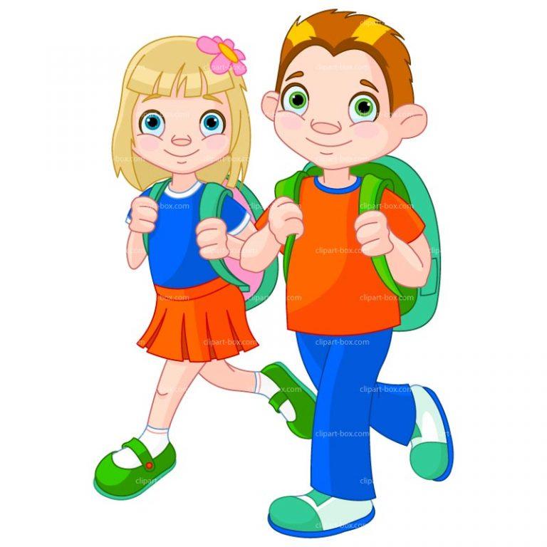 768x768 Kids Walking To School Clipart 462c49863553d618a144561fe46cb531