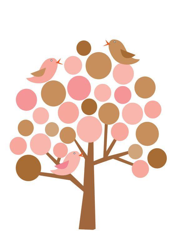 570x798 Tree And Birds Clip Art Clip Art